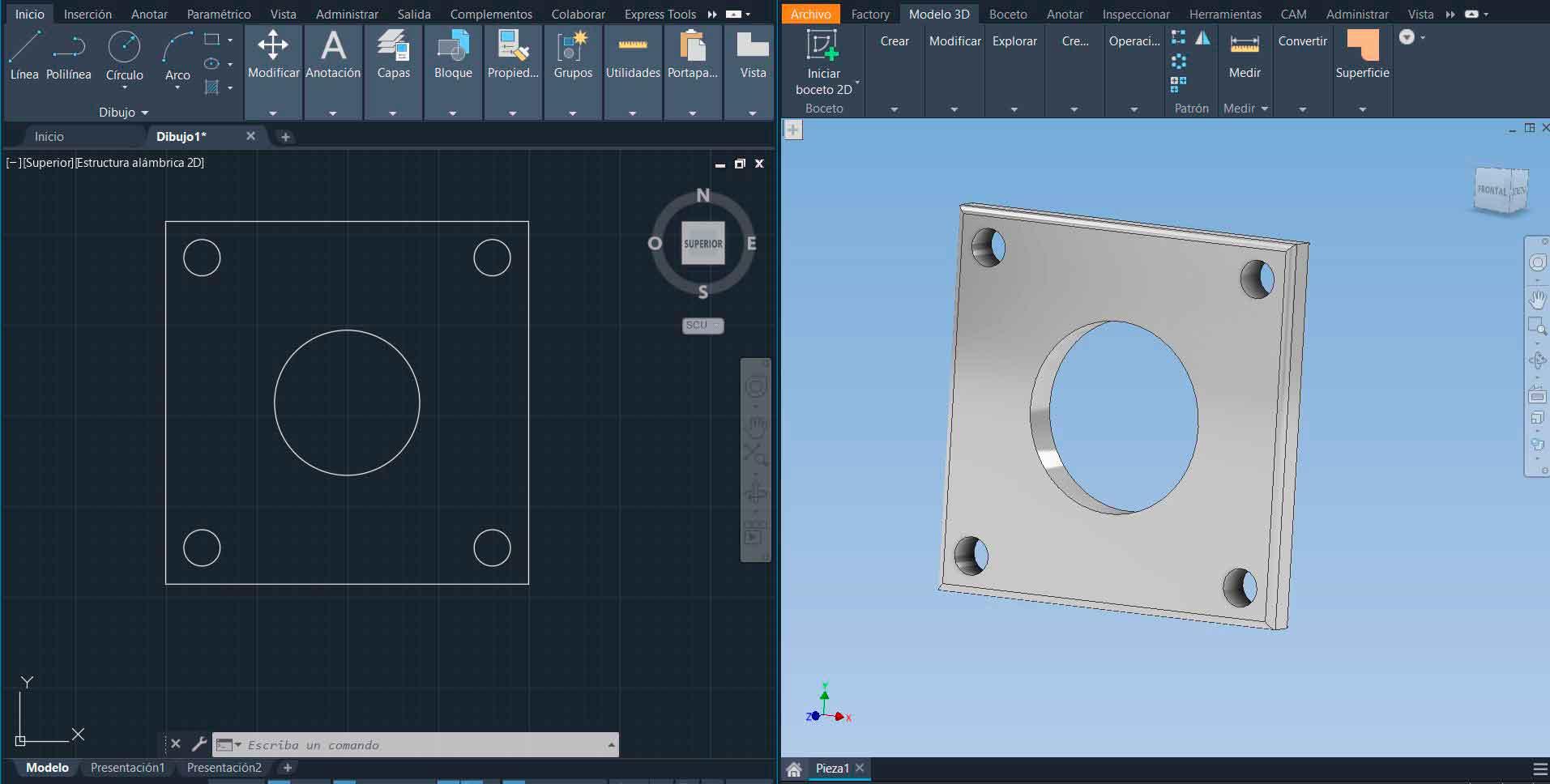 Pasar del 2D al 3D en diseño industrial