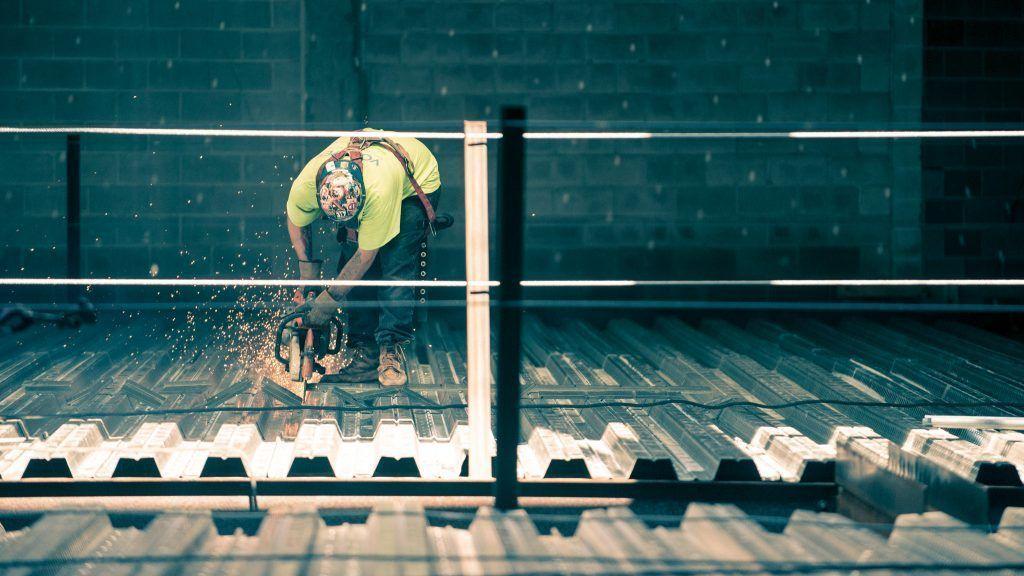 Trabajador de construcción - Materiales del pasado