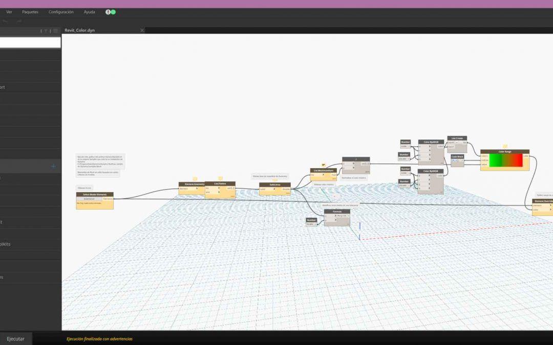 Demo Dynamo. ¿Conoces los softwares de la Collection de Arquitectura, Ingeniería y Construcción?