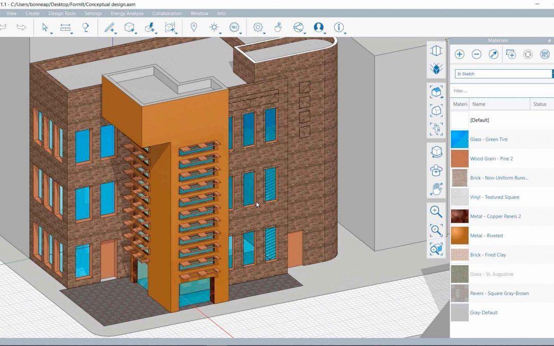 Demo FormIt. ¿Conoces los softwares de la Collection de Arquitectura, Ingeniería y Construcción?