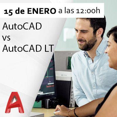 Diferencias entre AutoCAD y AutoCAD LT