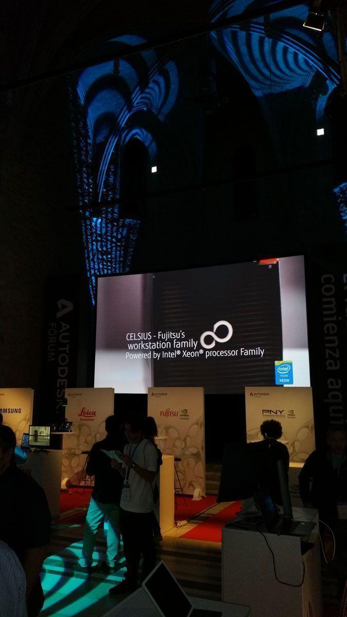 Autodesk Fórum 2017 en el Convent dels Àngels en Barcelona - 5 de octubre de 2017