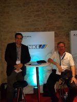 Miguel Gutiérrez, Consultor Senior AEC-BIM de NKE, y Joan de Haro, Executive Sales de NKE,
