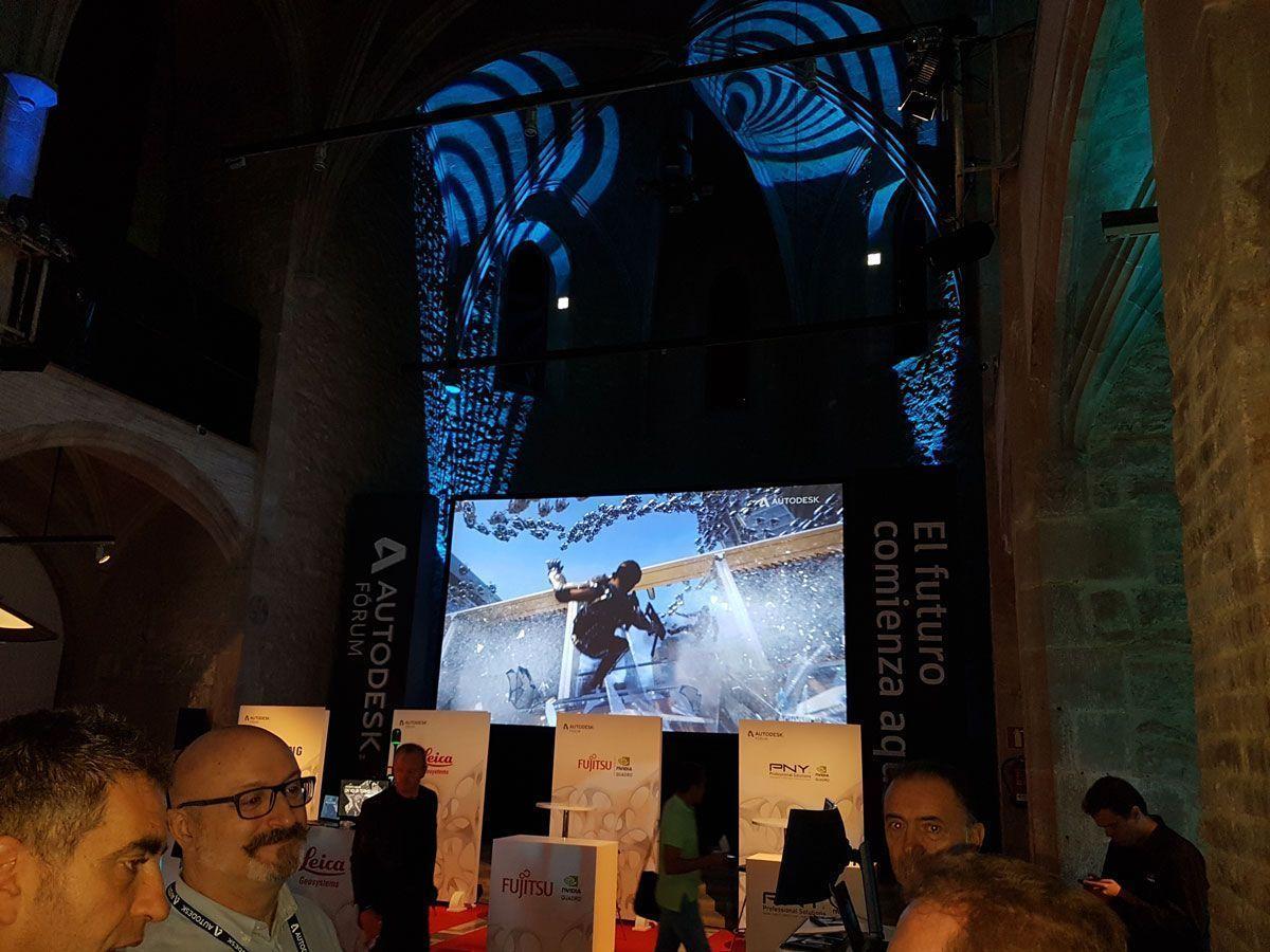 Autodesk Fórum 2017 en el Convent dels Àngels