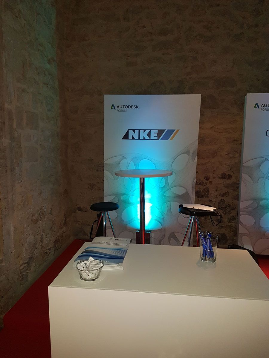 Stand de NKE en Autodesk Fórum 2017