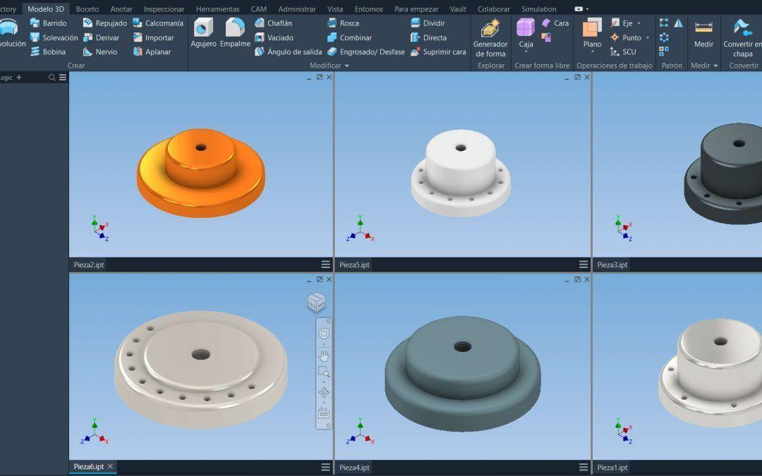 Webcast Diseña piezas y ensamblajes con distintas configuraciones