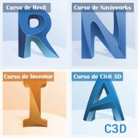 Curso Revit | Curso Navisworks | Curso Inventor | Curso Civil 3D