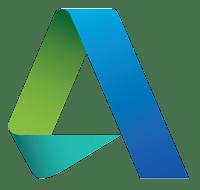Icono de Autodesk, líder en software de diseño 3D