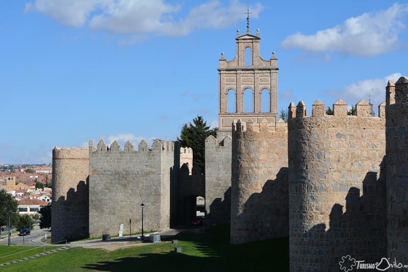 Muralla de Ávila - Arquitectura Española de Ayer y de Hoy
