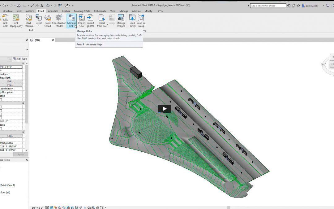 Masterclass Cómo trabajar con superficies topográficas en Revit a través de puntos o datos importados