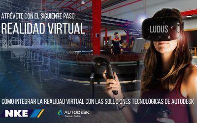 Webcast sobre Cómo integrar la Realidad Virtual con las Soluciones Tecnológicas de Autodesk