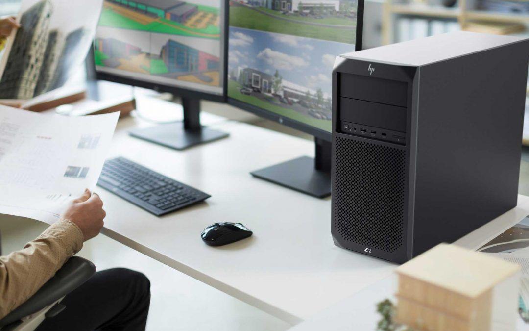 Trabaja desde casa en equipos HP Z workstation